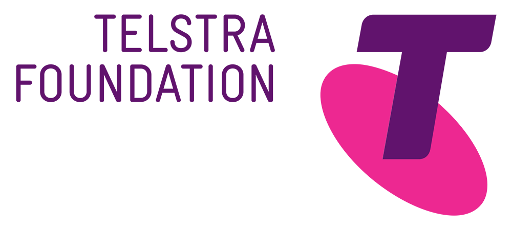 Telstra Foundation logo