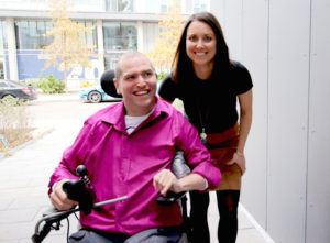 Heather and Andrew are the co-founders of handi