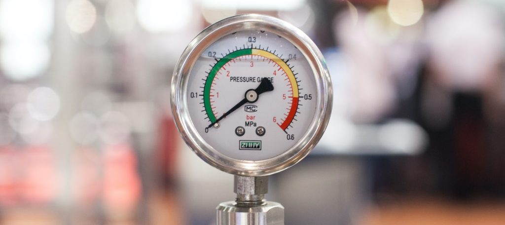 Photo of a pressure gauge. Doing things that don't scale may keep the pressure low but it also may stop your startup growing. Photo by Crystal Kwok on Unsplash. Start paid marketing before you believe the product is finished, and probably before you think anybody in their right minds would be happy to pay.