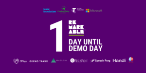 Only one sleep until Demo Day 2020