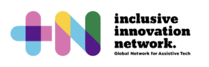 +N logo which features a multicoloured, bold text '+N' accompanied by black text 'inclusive innovation network'.